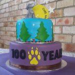 100 Year Celebration Cake