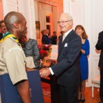 SA Scout surprises HM King of Sweden