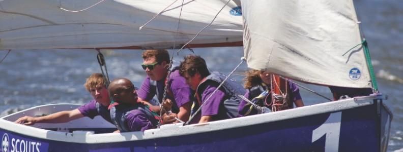 Scouts sailing lite