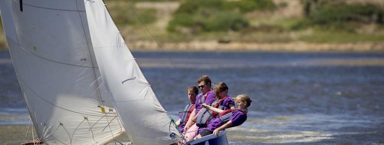 Sea Scouts teamwork