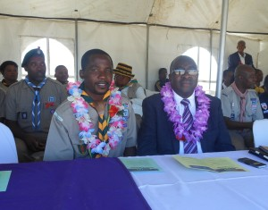 KZN Scouting Competition Rally 2014 Chief Scout and Minister Nene