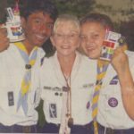 1st Richards Bay Sea Scouts sharing festive cheer with sailors