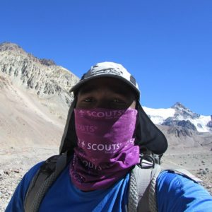 2 Chief Scout summits Aconcagua in January 2015
