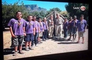 screenshot 1st tableview scout group on YOTV