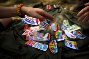 24th World Scout Jamboree Badges