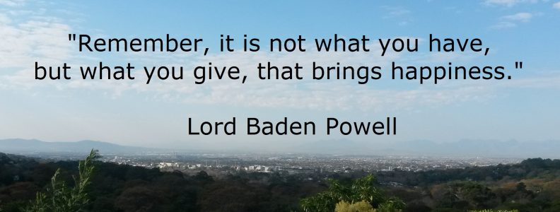 Lord Baden Powell quote
