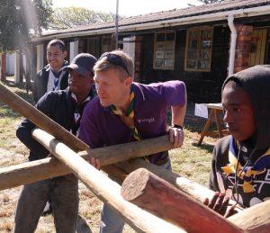 Chief Scout Brendon Volunteering