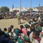 Children and Scouters at KZN Rally