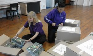 Cub Workbooks on their way to Regional Offices 1