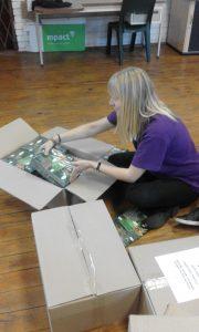 Cub Workbooks on their way to Regional Offices 3L