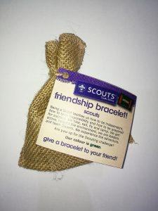 Friendship Bracelet - scouts