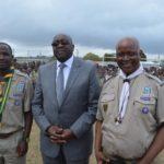 KZN Rally - Chief Scout Sibusiso Vilane, Minister Nene, event organiser Dr Goodenough Dlamini