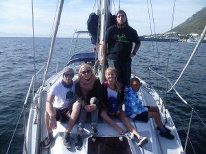 Sailing on Rotary web