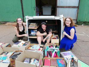 Book drive for rural schools