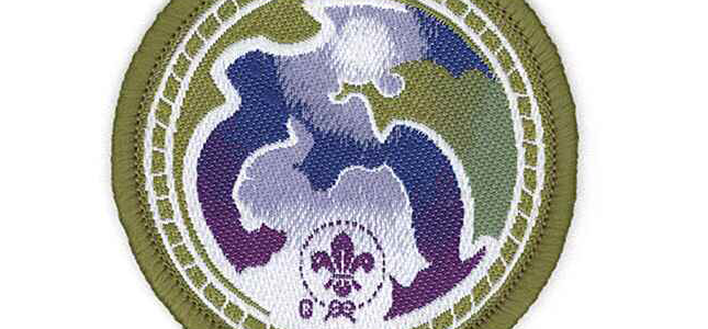 World Scout Environment Badge