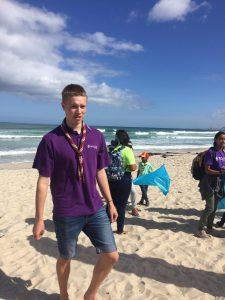 christian beach cleanup