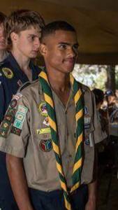 claude in uniform