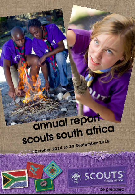 annual report 2015   scouts south africa