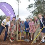 joint uper-highway scout and school tree planting