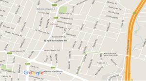 map belverdere