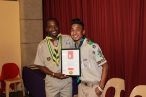 springbok scout award