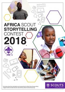 Africa Scout Storytelling poster
